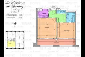 for rent 2 room apartment at les résidences du sporting
