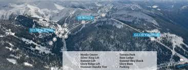 Terrain Map Trail Maps Winter Mountain Terrain Whitewater Ski Resort