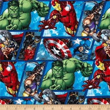 marvel avengers assemble avenger grid multi from fabricdotcom