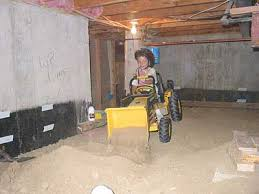 basement crawl space finally finished