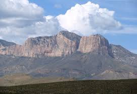 Texas mountains images Guadalupe peak wikipedia JPG