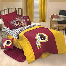 redskins bedroom decor nfl washington redskins bed set twin