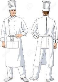 Men Cooking Aprons The Man The Cook In An Apron With Pockets Royalty Free Cliparts