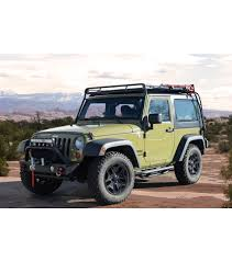 aev jeep 2 door jeep jk 2door stealth rack multi light setup gobi racks