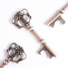 key bottle opener wedding favors 50 key bottle openers antique copper crown wedding favors