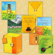 turmeric ink invitations and stationery wedding invitations in delhi