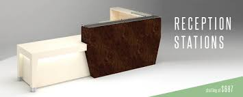 Desks Modern Modern Reception Desks 90 Degree Office Concepts