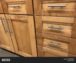 oak kitchen cabinet hinges wood kitchen cabinets image photo free trial bigstock