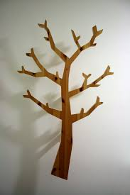 make a fancy looking tree shaped hatstand out of scrap wood