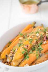 Thanksgiving Carrots Crockpot Orange Honey And Herb Glazed Carrots Culinary Ginger