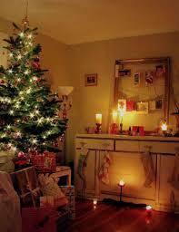 White Christmas Tree With Orange Decorations by Orange And Blue Christmas Tree Christmas Lights Decoration