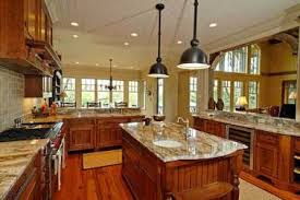 open floor plans with large kitchens 17 open floor plan ranch style kitchens mascord house plan 22156
