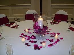 Burgundy Wedding Centerpieces by Burgundy Ivory Pink Centerpiece Centerpieces Fall Indoor Reception