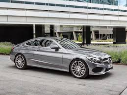 grey mercedes a class mercedes c class coupe c220d sport car leasing nationwide