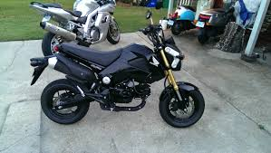 black honda bike post of a pic of your grom with your other bikes page 2