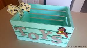 Diy Toy Box With Lid by Diy Dog Toy Box Dog Mom Days