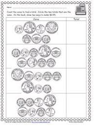 homeschool parent free counting coin worksheets