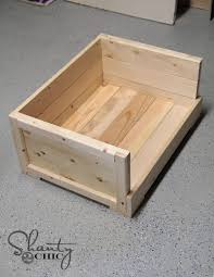 Woodworking Plans Projects June 2012 Pdf by Diy 12 Pet Bed Shanty 2 Chic