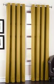 Gold Thermal Curtains Thermal Curtains Madison Room Darkening Grommet Curtains U2013 Gold