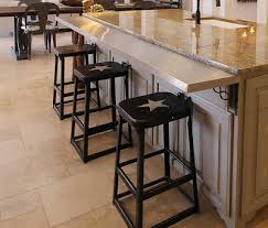 how to add a kitchen island great way to add a bar to an existing island western decor