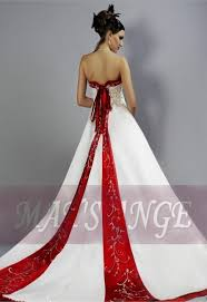 Red And White Wedding Dresses Wedding Dresses Fairy Tale Red And White Wedding Dresses Dresses