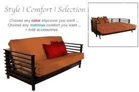 best black futon couch orion wallhugger futon black walnut the