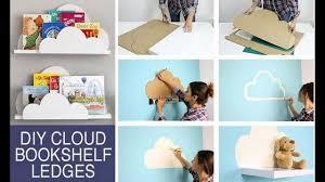 diy back to 2017 diy cloud bookshelf ledges diy