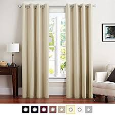 Amazon Thermal Drapes Amazon Com Balichun 2 Panels Blackout Curtains Thermal Insulated