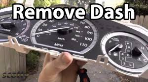 how to remove a car dash youtube