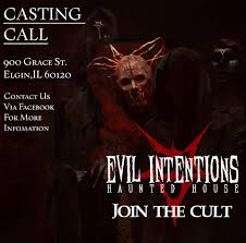 halloween horror nights wait times evil intentions haunted house home facebook