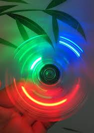 a light up fidget spinner ultimate rainbow light up fidget spinner misticle