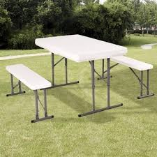 home goods folding table picnic tables home goods for less overstock com