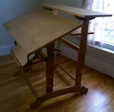 Drafting Table Adjustable Height Turn A Drafting Table Into A Study Juggernaut 6 Steps With Pictures
