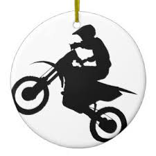 dirt bike ornaments keepsake ornaments zazzle