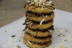chocolate coconut peanut butter cookies fresh from oregon