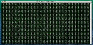 wallpaper terminal mac turn the terminal into a matrix style scrolling screen of binary or