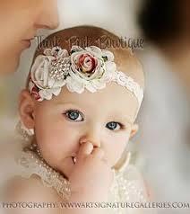 headband for babies diy baby headband kit beige ivory chagne