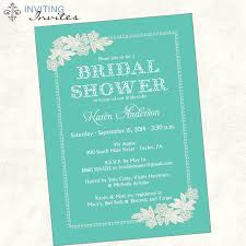 Bridal Invitations Double Bridal Shower Invitation Wording Bridal Shower Invitations