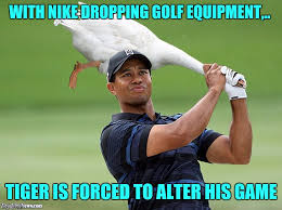 Tiger Woods Memes - i never used nike clubs anyways imgflip
