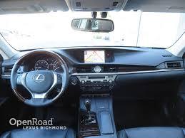 lexus service richmond bc used 2014 lexus es 350 leather navigation package certified
