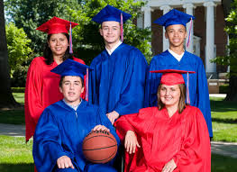 high school cap and gown rental rental caps gowns for high schools by oak cap gown