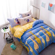 home textile black gray star bedding set100 cotton elephant
