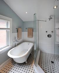 bathroom tub ideas bathroom traditional with basketweave tile