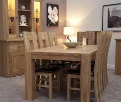 trend solid oak large dining table oak furniture uk