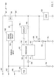 patent us6282480 electronic brake controller and display