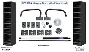 Murphy Bed Frame Kit Murphy Bed Kits Ikea Excellent Bed Frame Kit In Small Home Remodel