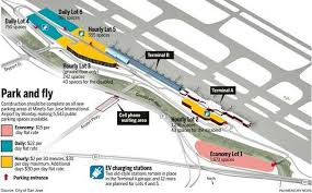 san jose airport gate map parking makeover nearly complete at san jose airport the mercury
