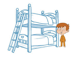 Cartoon Bunk Beds by Sketching The Layout For The Children U0027s Bedroom And Props The