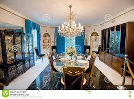 Mansion Dining Room Graceland Formal Dining Room Editorial Photography Image 74962542