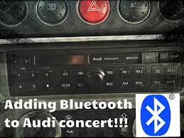 audi concert bluetooth audi concert bluetooth install easy by